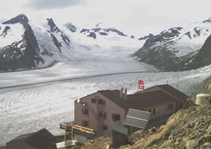 Photo of the Konkordia Hut