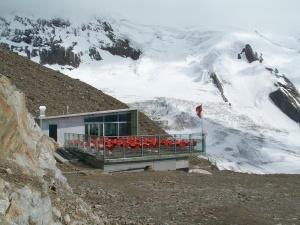 Photo of the Hohsaas Hut