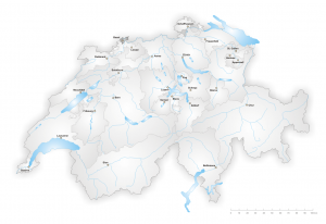 Map of Basel-Stadt