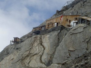 Photo of the Oberaarjoch Hut