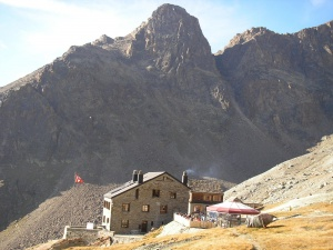 Photo of the Weissmies Hut