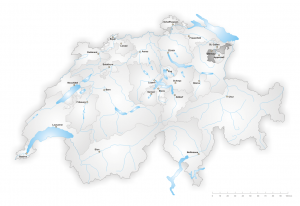 Map of Appenzell Ausserrhoden