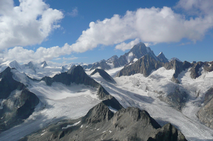 Photo of the Finsteraarhorn Group
