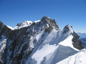 Photo of the Aiguille de Rochefort