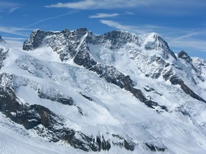 Photo of the Breithorn-Liskamm Group