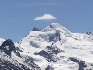Photo of the Allalinhorn