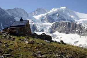 Photo of the Arpittettaz Hut