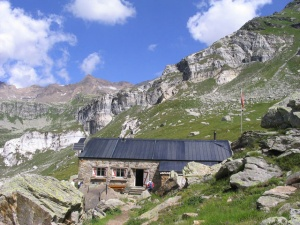 Photo of the Binntal Hut